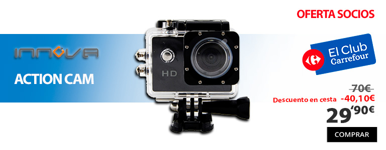 oferta actioncam innova club carrefour