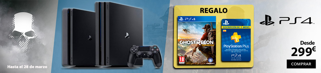 oferta ps4 ghost recon wildlands psn+