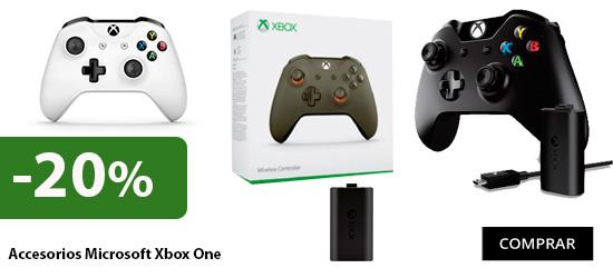 oferta accsorios xbox one de microsoft