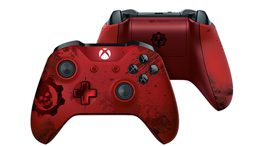 mando xbox one gears of war rojo