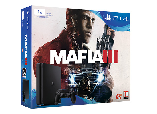 ps4 slim 1tb mafia 3