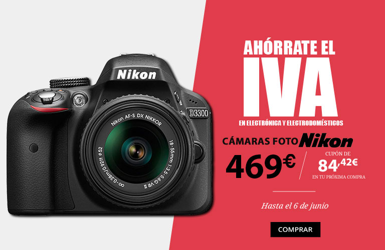 ahorrate el iva cámaras nikon