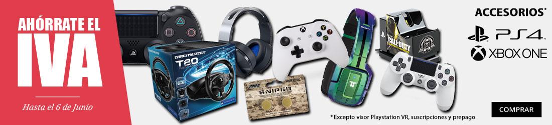 ahorrate el iva accesorios videojuegos