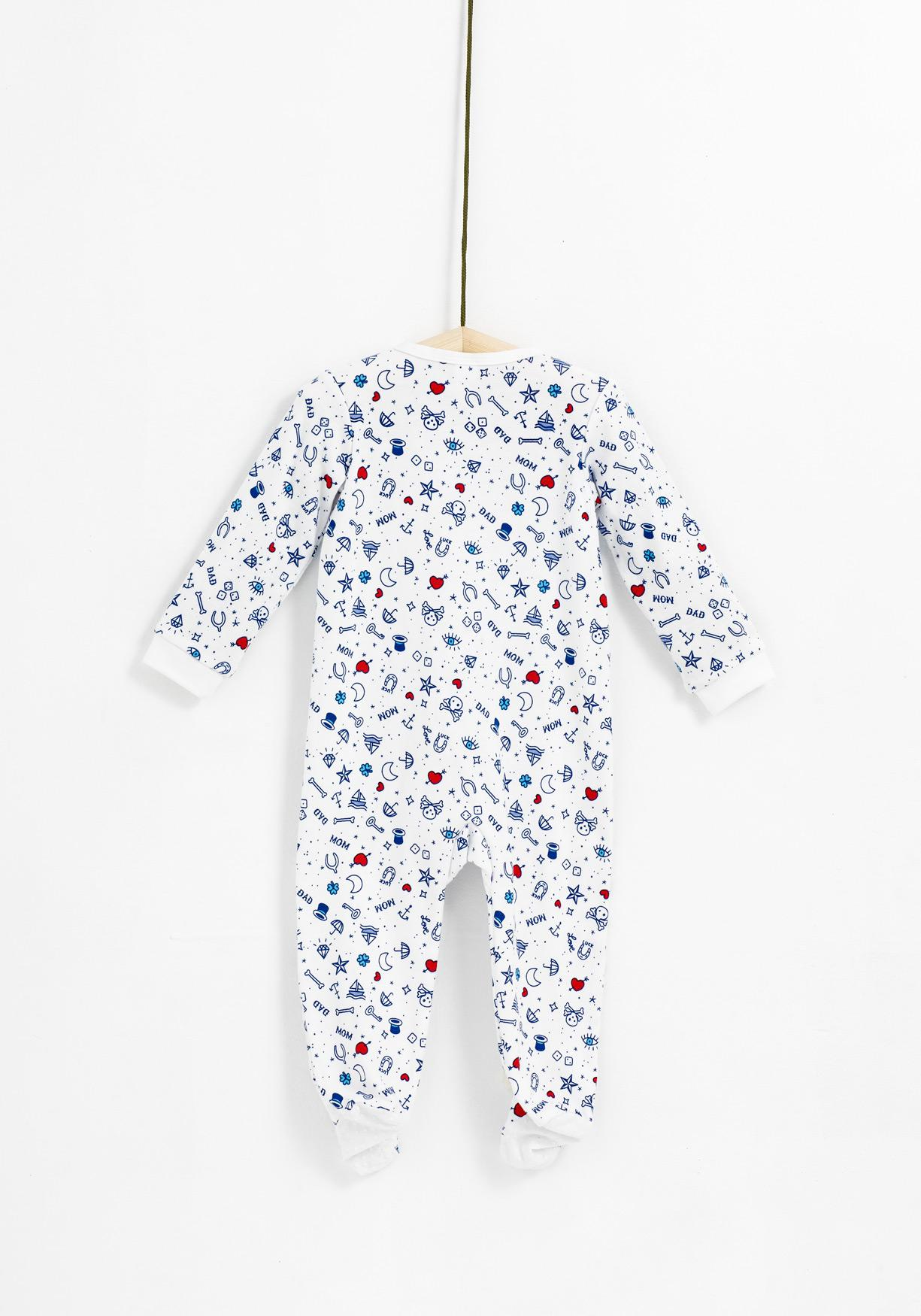 Pijama estampado TEX