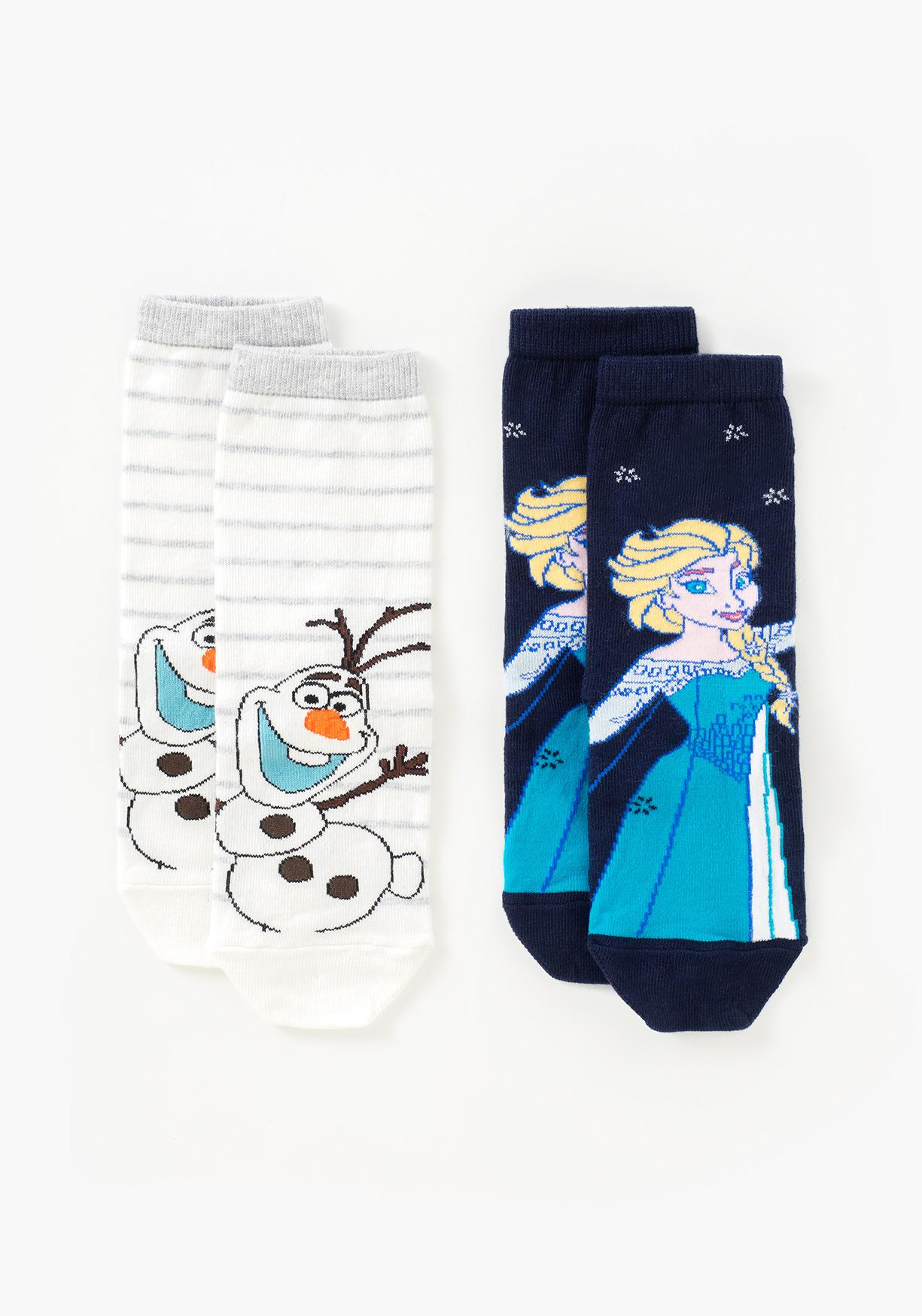 Pack de dos calcetines Frozen DISNEY