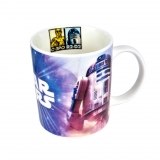 Mug de Bon China  C-3PO Y R2-D2 32,5CL - Decorado