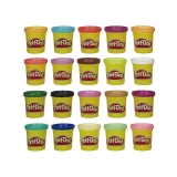 Hasbro - Playdoh Pack Súper Color 20 Botes