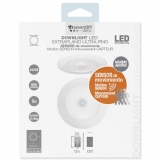 Downlight Extraplano LED C/Sensor Blanco 8W 7HSevenOn CJ.1