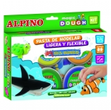 Pasta de Modelar Sea World 6x40 gr Alpino Magic Dough