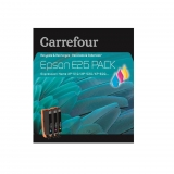 Pack Cartucho de tinta Carrefour E26 - Tricolor