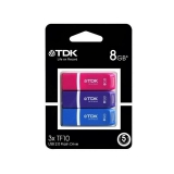 Memoria USB TDK Pack3 TF10 8GB