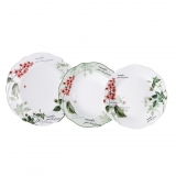 Juego de Vajilla de Porcelana BRUNCHFIELD Remember 18pz - Decorado