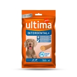 Snacks para Perro Ultima Interdental Plus 210 Gr