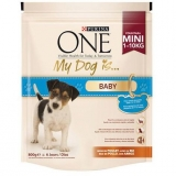 Comida para perro cachorro Purina One My Dog Is Baby Pollo y Arroz 800 gr