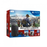 PS4 Slim 1TB con Watch Dogs y Watch Dogs 2