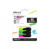 Memoria USB PNY Pack3 16GB