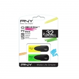 Memoria USB PNY Pack2 32GB