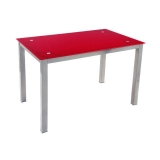 Mesa Refez Rectangular - Roja
