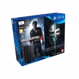 PS4 Slim 1TB con Uncharted 4 y Dishonored 2