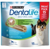 Pack 15 Snack Dentalife Medium para Perro