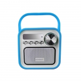 Radio Sunstech RPBT420 con Bluetooth - Azul