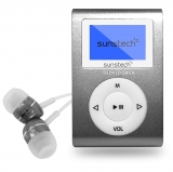 Reproductor MP3 Sunstech 8GB Dedalo III - Gris