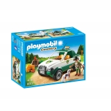 Playmobil - Guardabosque con Pick Up