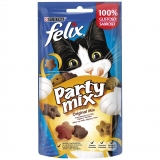 Snacks para Gato Purina Felix Party Mix Original Mix 60 gr