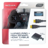 CABLE HDMI HIGH SPEED CON ETHERNET+4 GATILLOS. Accesorios PS3