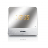 Radio Despertador Philips AJ3231 - Plata