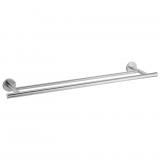 Toallero doble de Metal CARREFOUR HOME   69cm  - Metalizado
