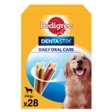 Pack de 28 barritas para perros Pedigree Dentastick