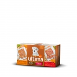 Alimento Humedo para Perro Ultima Dog Mini Senior Multipack 4x150 gr