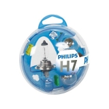 KIT  ESTUCHE 5 LÁMPARAS PHILIPS ESSENTIAL H7