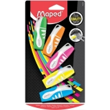 5 Marcadores Colores Surtidos Maped Fluo Pep's Pocket
