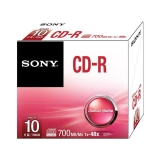 SONY PACK 10 CD-R 700MB. CD-R
