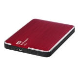 Disco Duro Externo Western Digital Passport Ultra Rojo 2,5