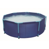 Piscina Tubular 244x66 cm - Metal Frame Pool