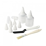 Set decorar ZENKER Patisserie 6,5cm. - Transparente