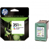 Cartucho de Tinta HP 351XL - Tricolor