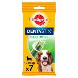 Pedigree Dentastick Fresh. Pack 7 barritas, 180gr