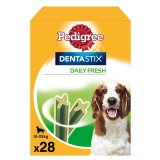 Pedigree Dentastick Fresh. Pack Mensual de 28 barritas