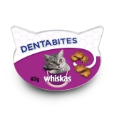 Snacks para Gatos Whiskas Dentabites 40 gr