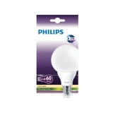 Bombilla LED No Regulable Globo Philips 9W = 60W G93 E27 Cálida Mate