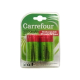 Pack de 2 Pilas Recargable Carrefour Hr14 ( C ) 3000 Mah