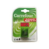 Pilas Recargable Carrefour HR22 (9v) 200 Mah