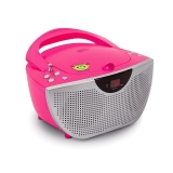Radio CD Bigben CD55 -Rosa