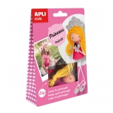Craft Kit Princesa Apli Kids
