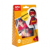 Craft Kit Super Héroe Apli Kids