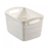 Cesta Ribbon 20 L - Blanco